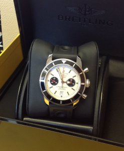 Breitling Superocean Heritage Chronograph 125th Anniversary White Dial A23320