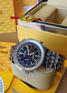 Breitling Navitimer Chronomatic A41350 Limited Edition Of 1,000 Pieces World-Wide