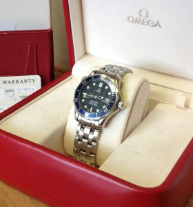 Omega Seamaster 36.2mm Mid-Size Blue Kit Quartz 2561.80.00