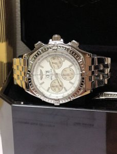 Breitling Crosswind Special A44355 White Dial
