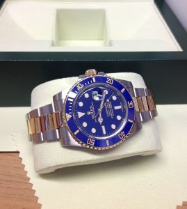 Rolex Submariner Date Bi/Colour Blue Ceramic 116613LB