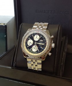 Breitling For Bentley GT Black Dial A13362