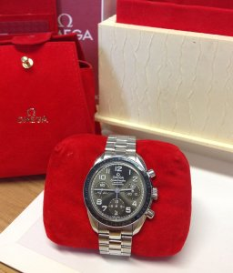 Omega Speedmaster Chronograph 38mm Ladies Automatic Grey Dial 324.30.38.40.06.001