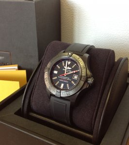 Breitling Avenger Seawolf Blacksteel M17330 Code Red Limited Edition Of 1,000 Pieces