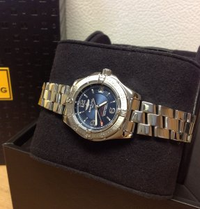 Breitling Colt Oceane Ladies Blue Dial A77380 Recently Serviced By Breitling UK