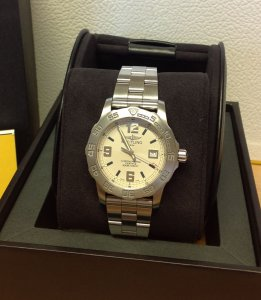 Breitling Colt 44 Silver Dial A74387 From 2013