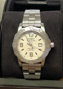 Breitling Colt 44 A74387 Silver Dial