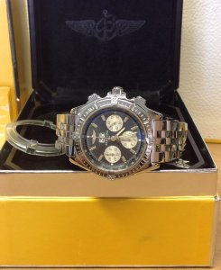 Breitling Crosswind Special Grey Dial Recently Serviced By Breitling UK