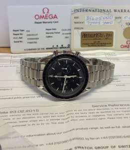 Omega Speedmaster Professional Apollo 11 30th Anniversary 3560.50.00 Just Serviced By Omega