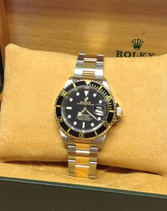 Rolex Submariner Date Bi/Colour Black Kit 16613 'A' Serial From 1999