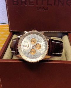 Breitling Navitimer H41322 50th Anniversary 18ct Yellow Gold Limited Edition Of 50 Pieces World-Wide