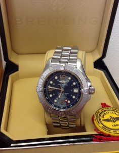 Breitling Superocean Steelfish A17360 42mm Blue Dial