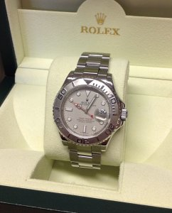 Rolex Yachtmaster 16622 Platinum Dial & Bezel From 2008