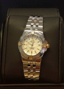 Breitling Starliner B71340 Mother Of Pearl Dial