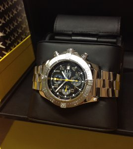 Breitling Avenger Skyland Code Yellow A13380Q8/BA44 Limited Edition Of 1,000