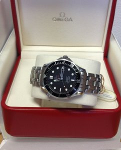 Omega Seamaster 300M Automatic Black Kit 212.30.41.20.01.002 From 2011