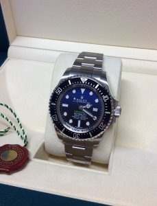 Rolex Deepsea Sea-Dweller D-Blue 116660 2015 Unworn