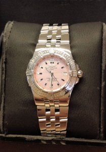 Breitling Starliner A71340 Pink Mother Of Pearl