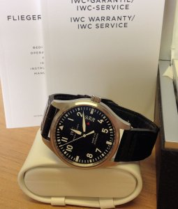 IWC Pilots Spitfire Mark XVII IW326501 Black Dial 2013