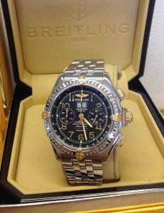Breitling Crosswind Special B44356 Bi/Colour Black Dial Limited Edition Of 1,000 Just Serviced By Breitling