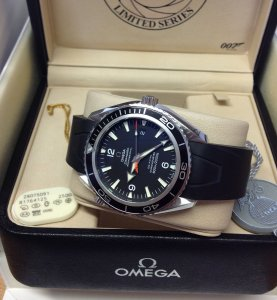 Omega Planet Ocean 2907.50.91 Casino Royale Limited Edition Of 5,007 Pieces World-Wide