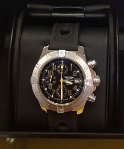 Breitling Avenger Skyland Code Yellow A13380Q8/BA44 Limited Edition Of 1,000 Pieces World-Wide!