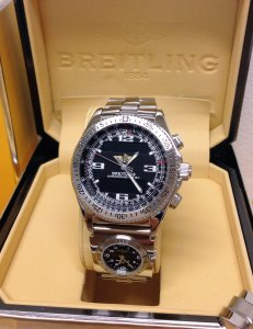 Breitling B-1 A78362 Black Dial With Co-Pilot