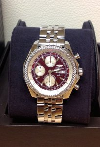 Breitling for Bentley GT A13362 Burgundy Dial