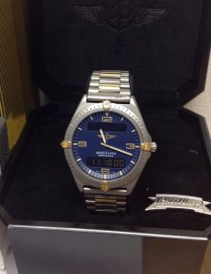 Breitling Aerospace F56061 Bi/Colour Blue Dial