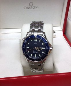 Omega Seamaster 2541.80.00 41mm Blue Kit Quartz