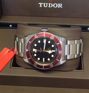 Tudor Heritage Black Bay 41mm 79220R Unworn