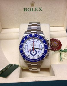 Rolex Yacht-Master II 116680 Stainless Steel 2014