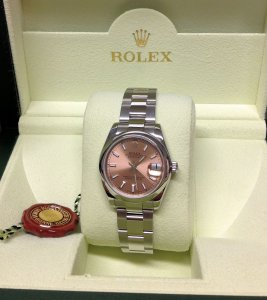 Rolex Lady Datejust 31mm 178240 Mid/Size Pink