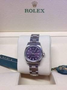 Rolex Oyster Perpetual 176200 26mm Red Grape