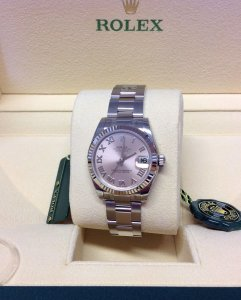 Rolex Datejust Lady 31mm 178274 Pink Unworn