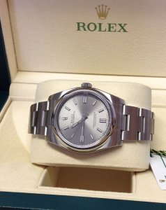 Rolex Oyster Perpetual 116000 36mm Steel Dial