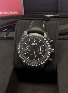 Omega Speedmaster Dark Side Of The Moon Pitch Black 311.92.44.51.01.004 Unworn