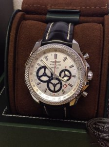 Breitling for Bentley Barnato Racing A25366 Silver Dial