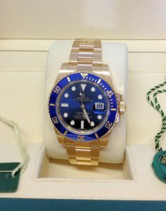 Rolex Submariner Date 116618LB 18ct Yellow Gold