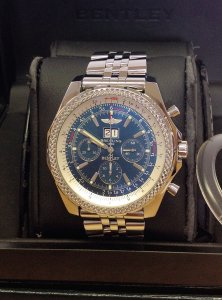 Breitling for Bentley 6.75 A44362 Blue Dial