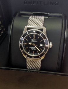 Breitling Superocean Heritage A17321 42mm Black Kit