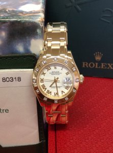 Rolex Pearlmaster 29mm 80318 18ct Yellow Gold