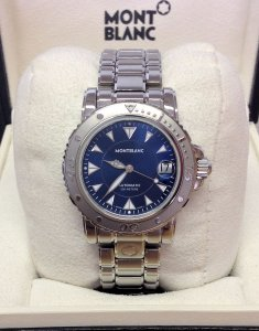 Montblanc Sport Automatic 7148 Blue Dial 38mm