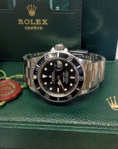 Rolex Submariner Date 16800 From 1982