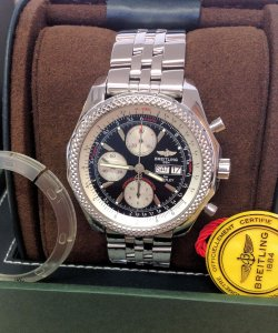 Breitling For Bentley GT A13362 Black Dial