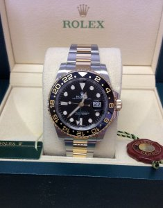Rolex GMT Master II 116713LN Bi/Colour