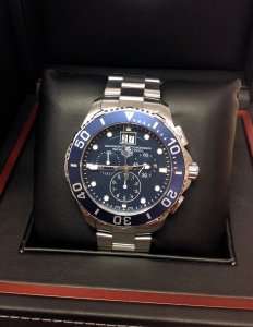 Tag Heuer Aquaracer CAN1011 Grande Date Chrono