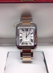 Cartier Tank Anglaise W5310037 Pink Gold Large Model