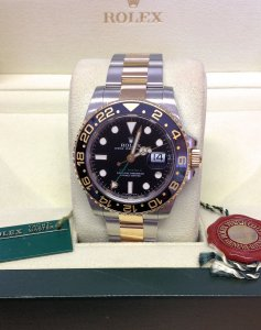 Rolex GMT Master II 116713LN Bi/Colour Ceramic