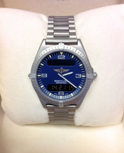 Breitling Aerospace E56061 Blue Dial